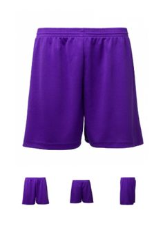PS 1003 - Plain Shorts with fully functioning draw cords. All eyelet body.