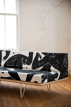 Cleon Peterson x Modernica Daybed