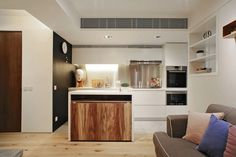 Small Hong Kong Apartment Featuring A Extremely Innovative And Functional Interior Style   2014 interior design article