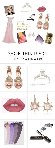 Princess Prep by kate-j-watters on Polyvore featuring Georges Hobeika, Sophia Webster, Nam Cho, Epoque, Gucci and Bobbi Brown Cosmetics
