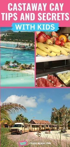 To make the most of your visit to Disney's private island, Castaway Cay, in The Bahamas, here's a list of dos and don'ts for Castaway Cay. Cruise Tips, Cruise Travel, Cruise Vacation, Disney Vacations, Disney Trips, Disney Travel, Cruise Destinations, Family Vacation Destinations, Family Vacations