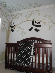 I love this idea for a nursery.
