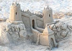 Sand castles made easy