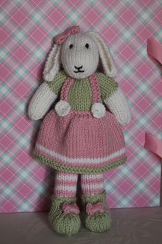 Mary Jane's Tearooms Bunny made by me!! I just love her!!!!!!