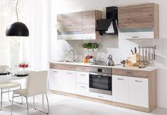 Kuchynská linka ECONO A | Nábytek Natali Kitchen Cabinets, Table, Furniture, Design, Home Decor, House, Ideas, Kitchen Cupboards, Homemade Home Decor