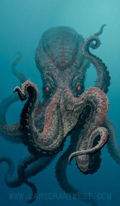 Show Us Your Tentacles: A Lovecraft Art Meme | Tor.com - a Smörgåsbord of Cthulhu
