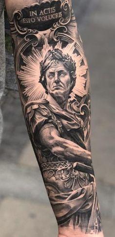 100 male tattoos on the arm - - 100 male tattoos on the arm – - Totem Tattoo, Statue Tattoo, Cool Arm Tattoos, Full Sleeve Tattoos, Forearm Tattoos, Unique Tattoos For Men, Cool Tattoos For Guys, Herren Hand Tattoos, Tattoo Roma