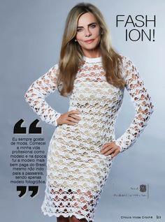 LANÇAMENTO: Revista Moda Crochê nº 1
