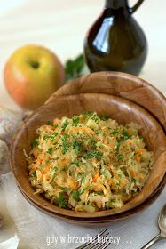 Surówka z kiszonej kapusty Fried Rice, Healthy Choices, Risotto, Fries, Ethnic Recipes, Places, Food, Birthday, Meal