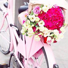 pink bike, amazing