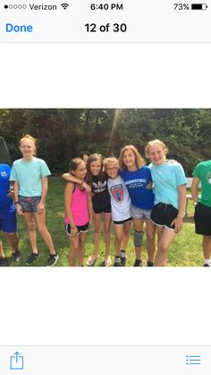 Me and my friends at camp