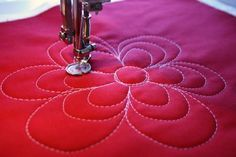 Loopy Flowers Quilting Tutorial.