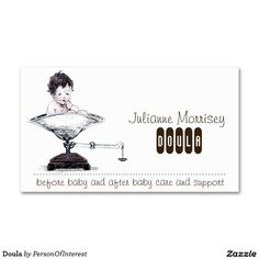 Doula Double-Sided Standard Business Cards (Pack Of 100)