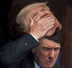 Is Donald Trump Hitler Reincarnated? The Evidence Is Pretty Damning Caricatures, Donald Trump, Lisa, Memes, Einstein, Presidents, Hilarious, Funny Stuff, Mad World