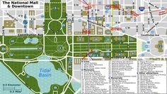 washington dc mall map printable | Description National Mall map.png