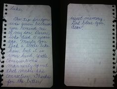 This note that was handed to a waiter along with a $20 bill by an elderly lady in his restaurant. | 21 Pictures That Will Restore Your Faith InHumanity