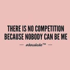 I'm unique and I am very proud of that. I'm the only NAE NAE... I'm the BOSS