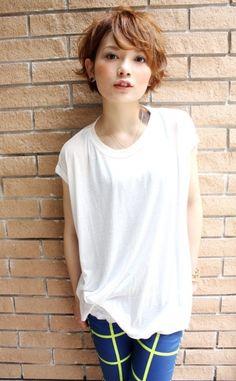 大人可愛いふんわりショートカットのヘアカタログ♡|MERY [メリー]