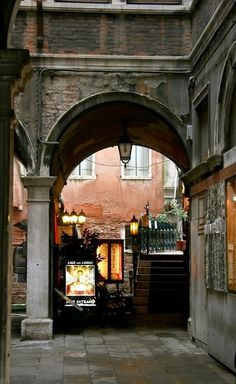 Streets of Venice, Italy