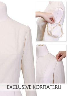 Метод наколки - выкройка рукава