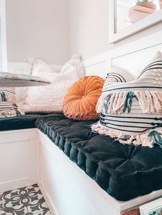 DIY Bench French Cushion Mattress + Easy Chair Reupholstery