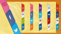 Social Tabs Free PSD