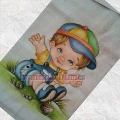 Fralda pintada - menino