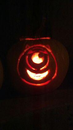 Mike Wazowski pumpkin Monsters inc By Audrey Honeycutt | {halloween ...