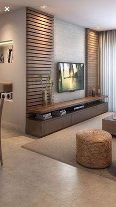 Meuble Tv Angle, Living Room Tv Unit, Living Room Decor, Living Room Designs, Be… - Home Decoraiton Tv Wall Decor, Wall Tv, Tv Unit Decor, Bedroom Tv Wall, Ikea Bedroom, Bedroom Storage, Bedroom Sets, Bedroom Decor, Bedroom Tv Cabinet
