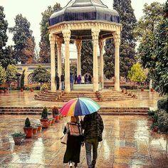 Tomb of Hafiz ⚫ Shiraz ⚫ Iran ⚫  رنج ما را که توان برد به یک گوشهی چشم  شرط انصاف نباشد که مداوا نکنی . حافظ