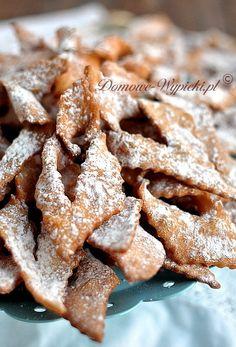Faworki bezglutenowe Polish Desserts, Polish Recipes, Polish Food, Apple Pie, Gluten Free Recipes, Free Food, Food And Drink, Meat, Cooking
