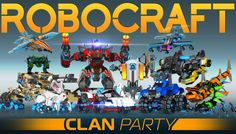 Robocraft News - Robocraft has been updated with a big new patch that brings the Clan Party expansion online. The content includes new clans functionality for groups up to fifty players; the ability for everyone to create 5-player parties; and new Sprinter Legs that allow players to jump higher and run faster.