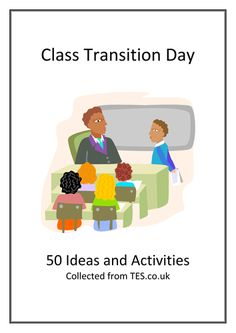Collated from various threads on the TES forums, this booklet gives 50 suggestions for activities to do when meeting your new class either on a transition ...
