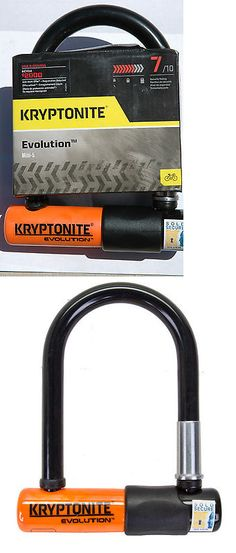 Other Bike Maintenance and Tools 177848: Kryptonite Evolution Mini-5 Lock - Bike Bicycle 13Mm 3.25X5.5 Black Orange New! BUY IT NOW ONLY: $49.97