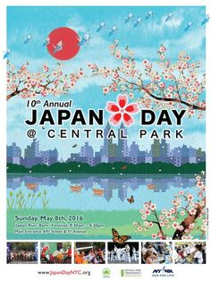 Japan Day @ Central Park | May 7  | Celebrate Japanese culture with live music, dance and Taiko drumming performances, food tents, calligraphy, sword fighting, karate demonstrations and more cross-cultural activities.