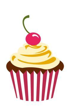 Cupcake Logo Png Cherry chocolate cupcake by