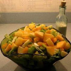 Napa Fruit Salad from Home for Dinner Cookbook.  Check vilaspiderhawk dot com for details.