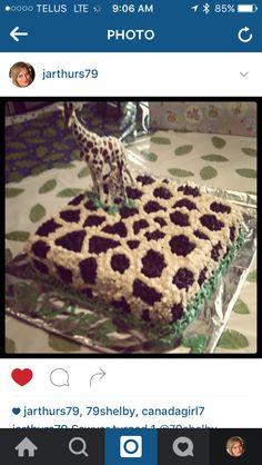 Giraffe cake for Sawyer Giraffe Cakes, Tiramisu, Ethnic Recipes, Food, Meals, Yemek, Eten, Tiramisu Cake