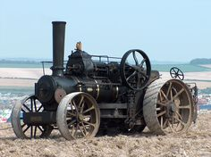 Antique Tractors, Vintage Tractors, Vintage Farm, Steam Tractor, Steam Engine, Rally, Engineering, Stationary, Tractor