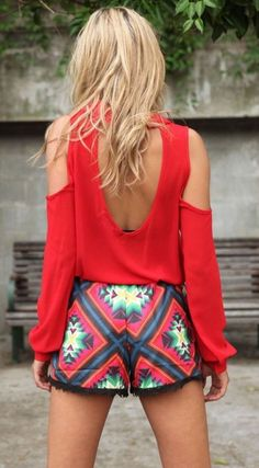 #summer #fashion / geo print