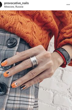 40 Best Fall Colors for Nails - - 40 Best Fall Colors for Nails Nails Art Design fall nail colors,best fall colors for nails,nail art fall nails trend Fall Nail Art, Fall Nail Colors, Fall Nails, Spring Nails, Hair And Nails, My Nails, Fall Nail Trends, Color For Nails, Nagellack Trends