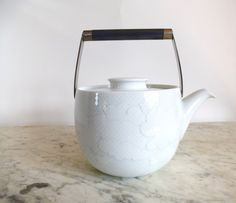 Tapio Wirkkala for Rosenthal Cumulus Teapot Rut Bryk Germany by HotCoolVintage on Etsy