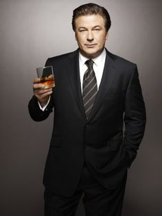 Alec Baldwin.  I think he'd be a fun dinner companion.