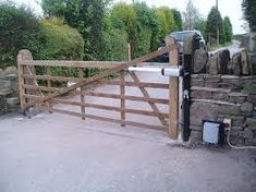 Image result for front entrance gabion walls farms