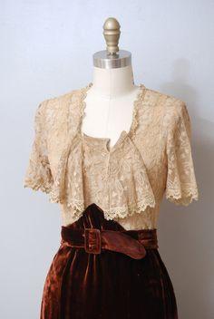 Bodice 1930's dress