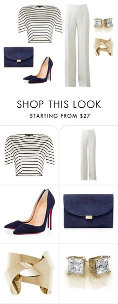 """""""Untitled #238"""" by tracie-renae on Polyvore featuring Alexander Wang, Michael Kors, Christian Louboutin and Mansur Gavriel"""