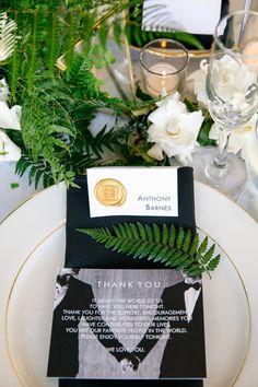 Hudson Loft | details | table setting | wedding thank you | wax seal