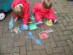 Painting Puddles / pavement