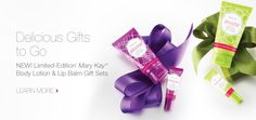 Limited-Edition Mary Kay® Body Lotion & Lip Balm Gift Set