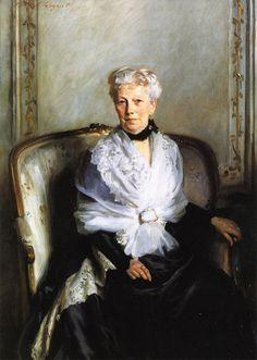 Mrs. Edward L. Goetz 1901. Джон Сингер Сарджент